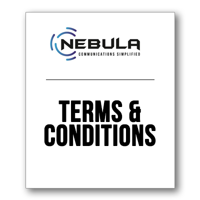 Cover of Nebula Voice Terms and Conditions